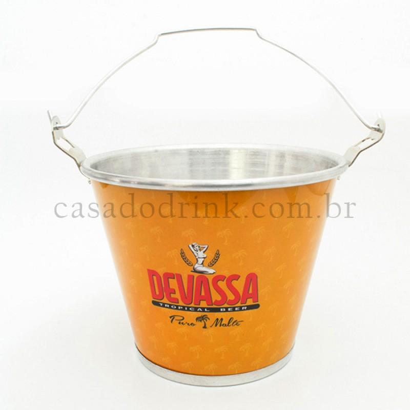 Fabuloso Balde para Gelo Cerveja Devassa (Original) TX52