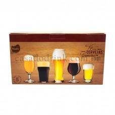 Conjunto Taças De Cervejas Especiais 5 Peças
