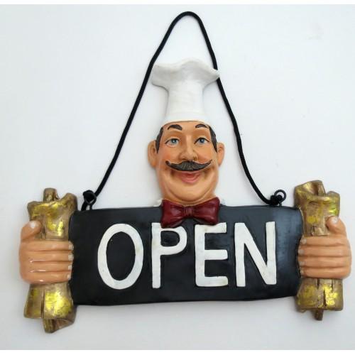 Chefe de Cozinha em Resina